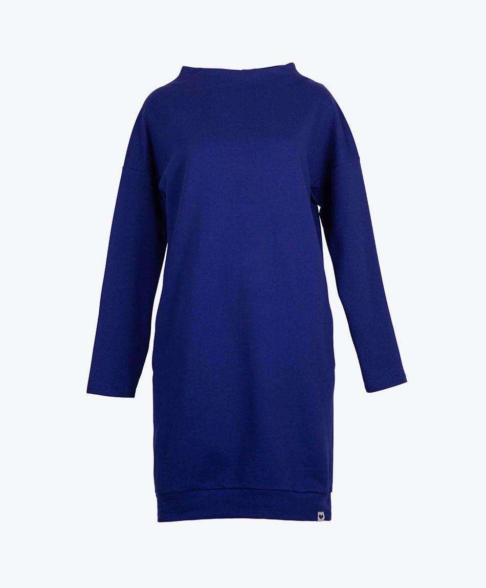FRANGULA Dress Electric Blue