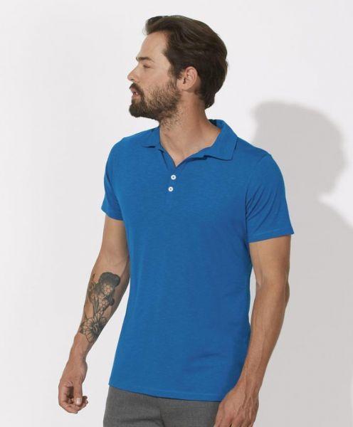 Poloshirt Miguel blau
