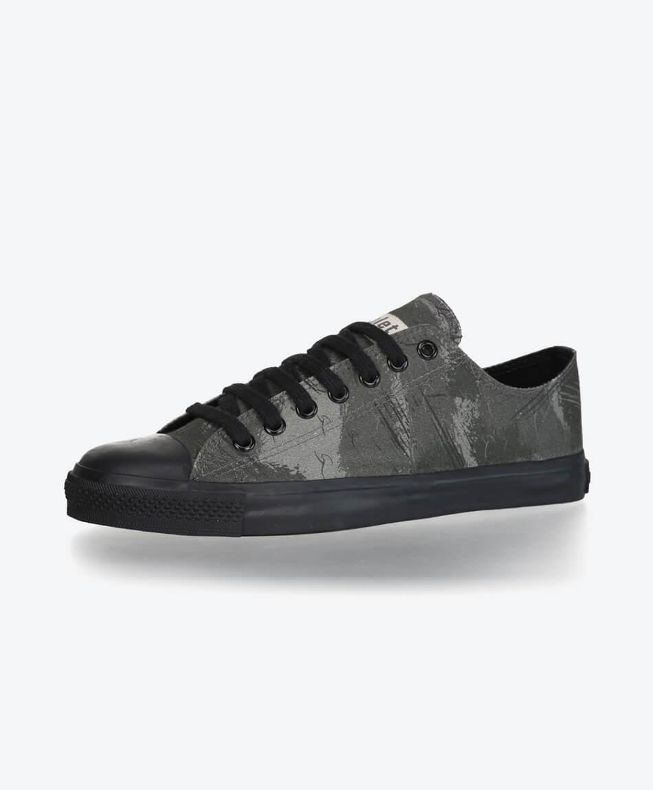 FairTrade Black Cap Sneaker Dove Camo Olive
