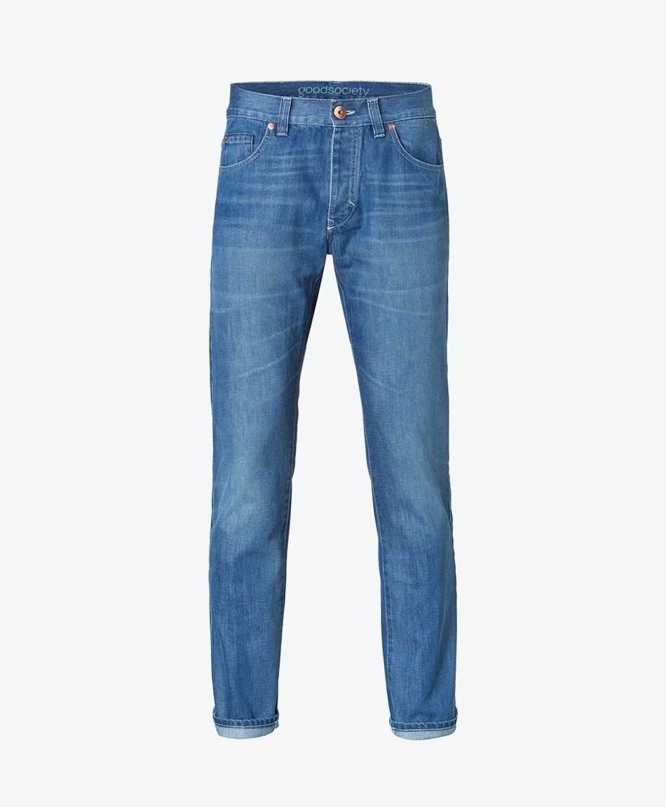 Mens Slim Straight Jeans Harrow