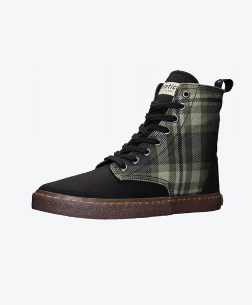 Fair Sneaker Brock Tartan Mystic Green