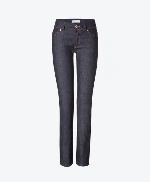 Womens Straight Jeans - Raw