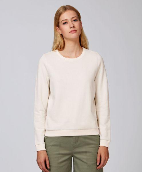 Naturmode Organic Sweatshirt in vintage white Frau