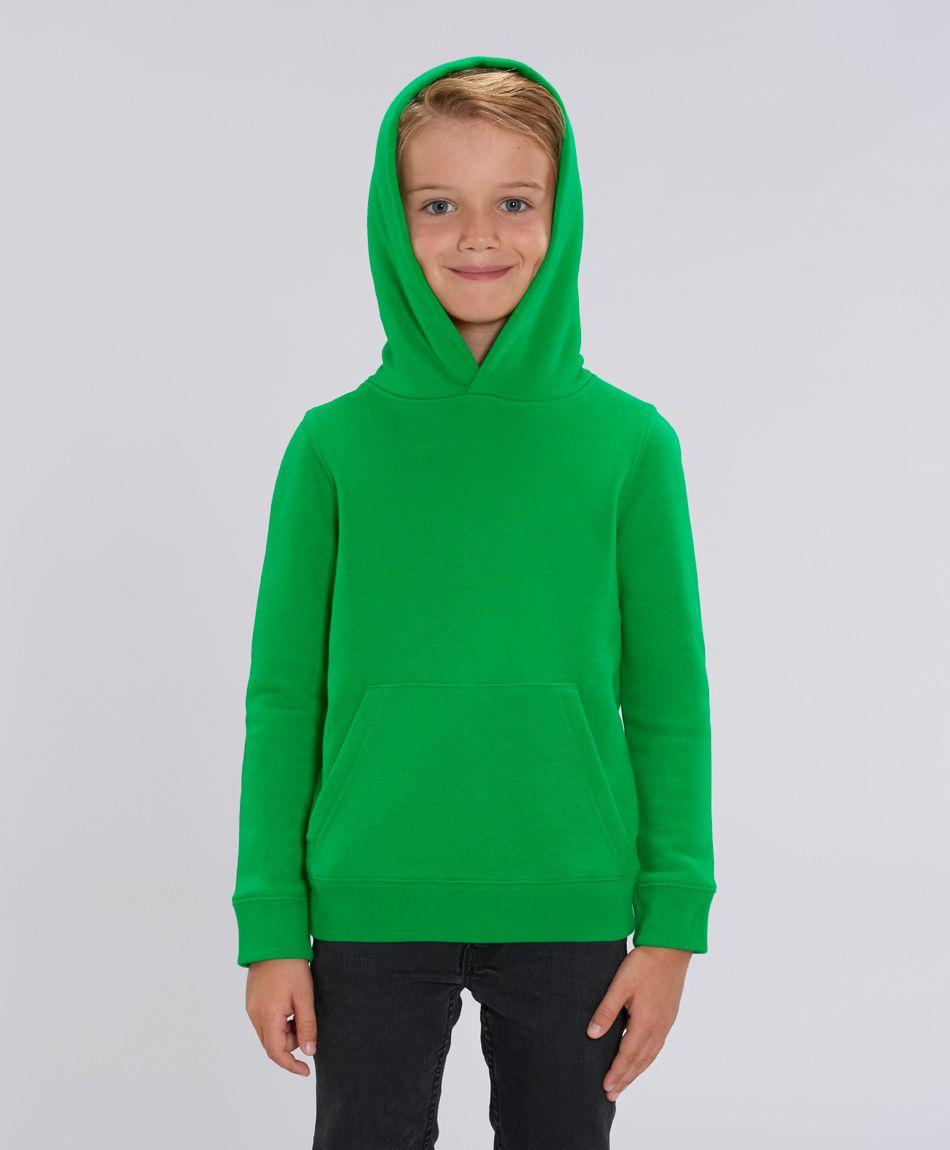 Unisex Kinder Hoodie Lucas Fresh Green