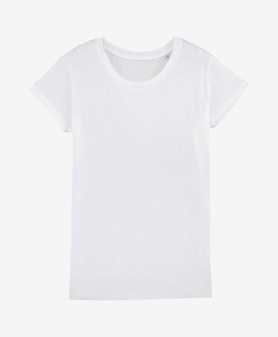 528e3eb90ac389 ... Frau · Vorschau  Eco Fashion Bio Baumwoll T-Shirt in weiß ...