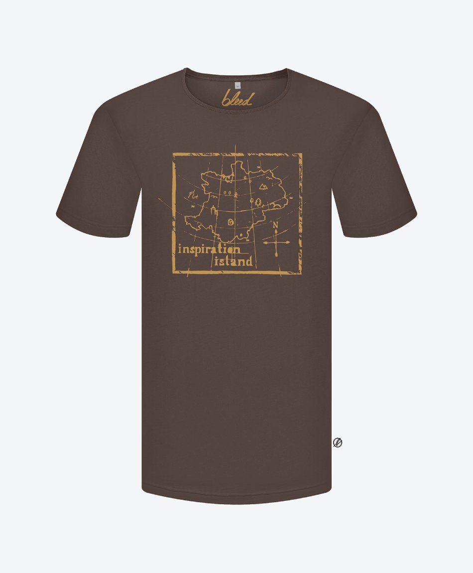 Inspirationalastic T-Shirt Brown