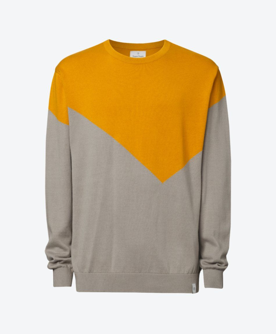 Pullover Golden Yellow/Silver