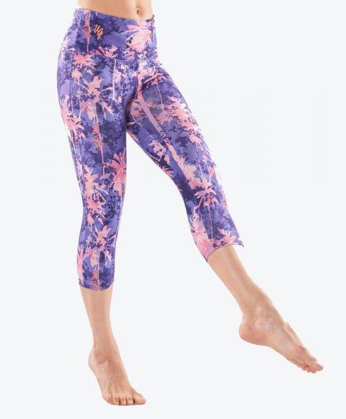 Satya Capri Yoga Legging - Amethyst
