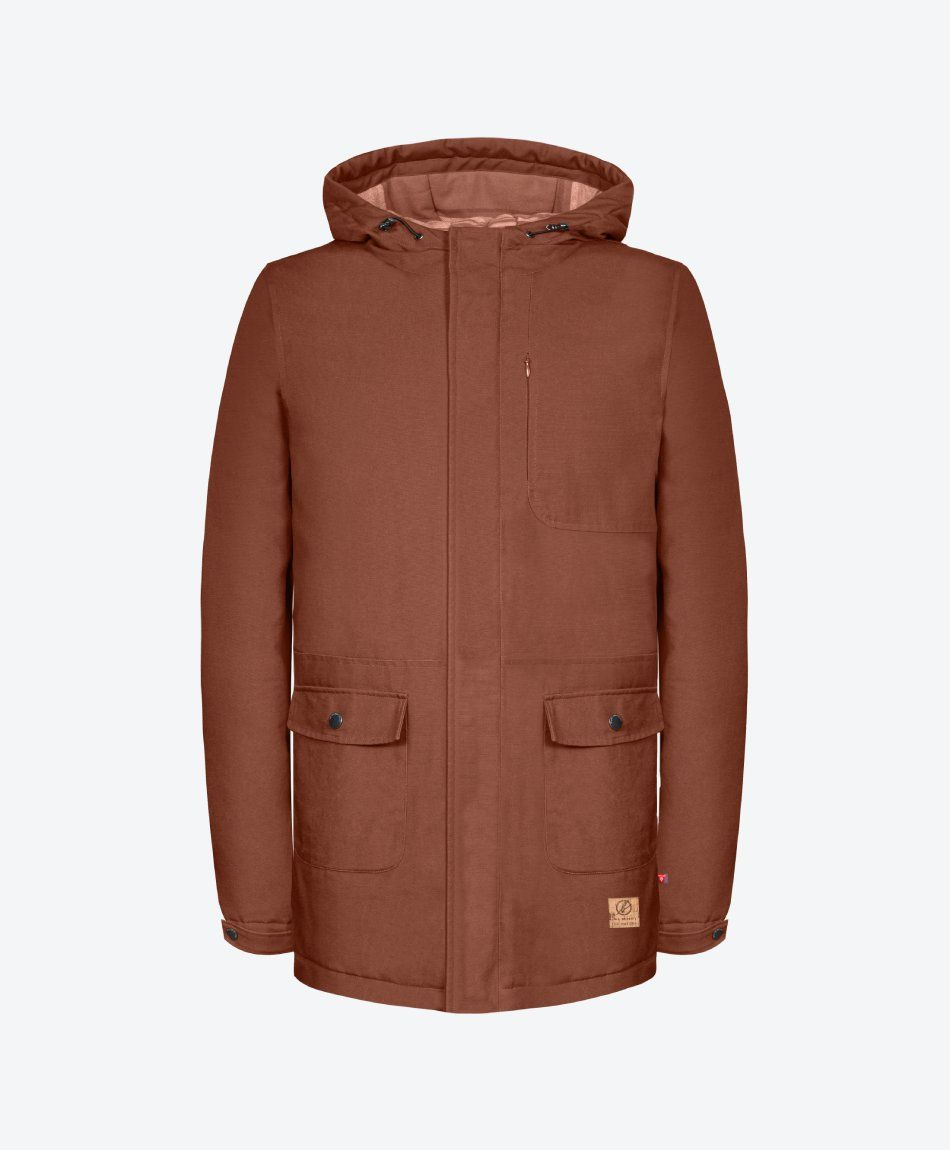 Guerilla Thermal Parka Red