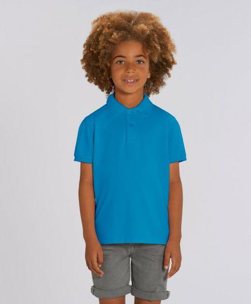 Unisex Kinder Poloshirt Max Azur