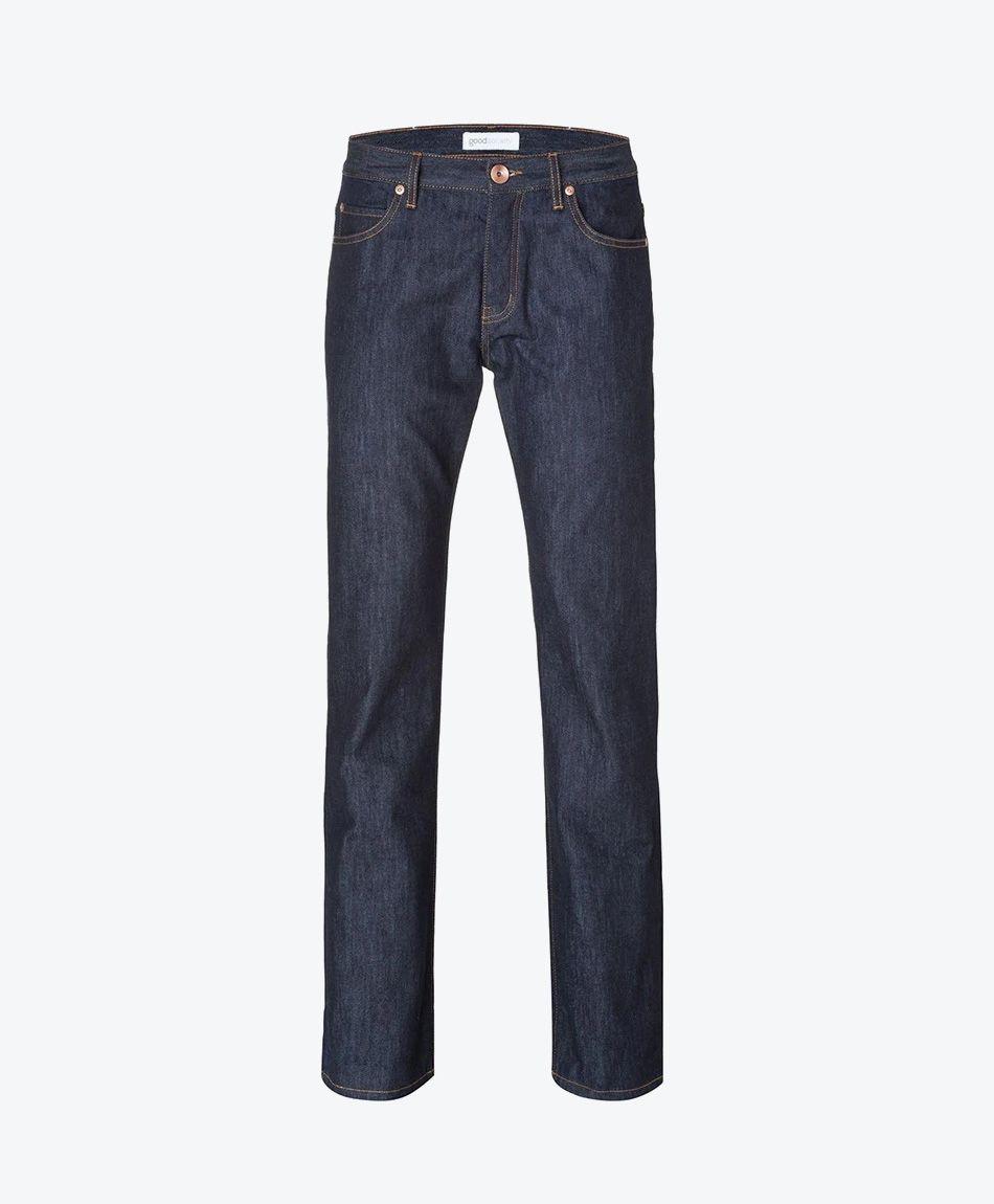 Mens Straight Jeans - Raw