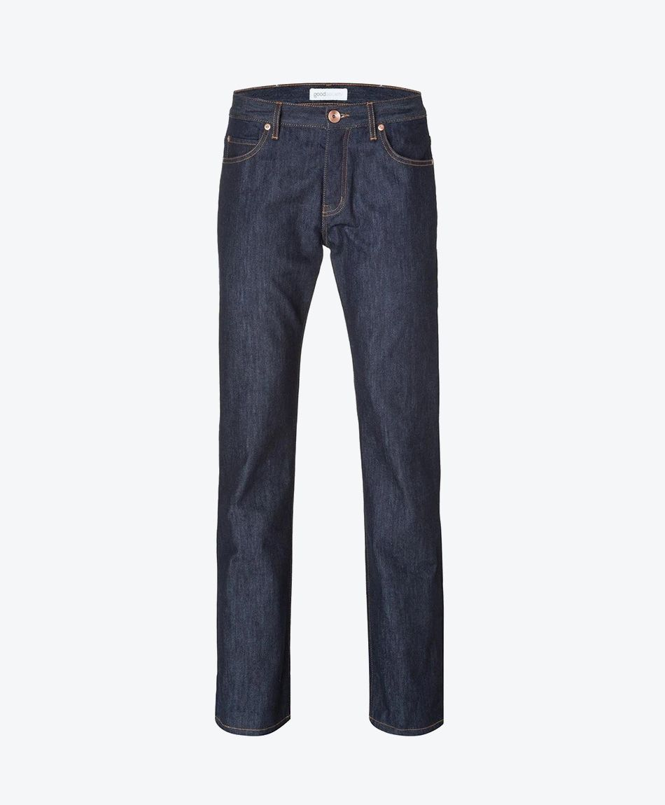 Mens Straight Jeans - Raw