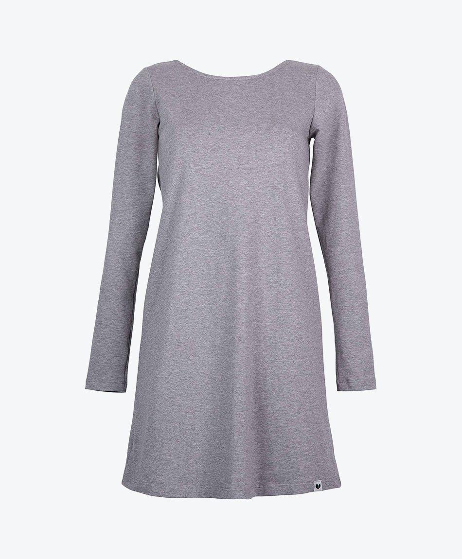 DAISY Dress Dark Grey Melange