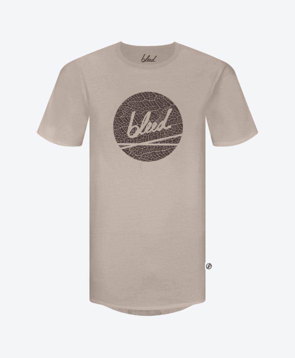 Dot Logo T-Shirt Taupe