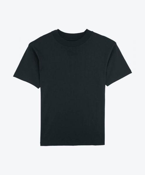 Nachhaltige Mode T-Shirt Trims in schwarz