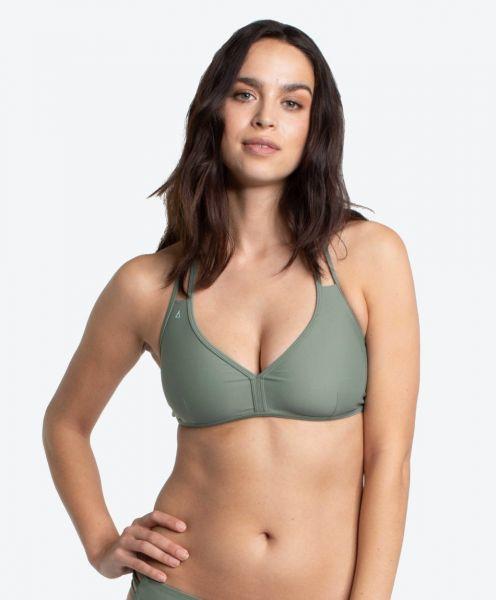 Neckholder Bikini Top Free Shore Khaki