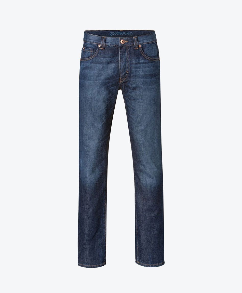 Mens Straight Jeans Kyanos