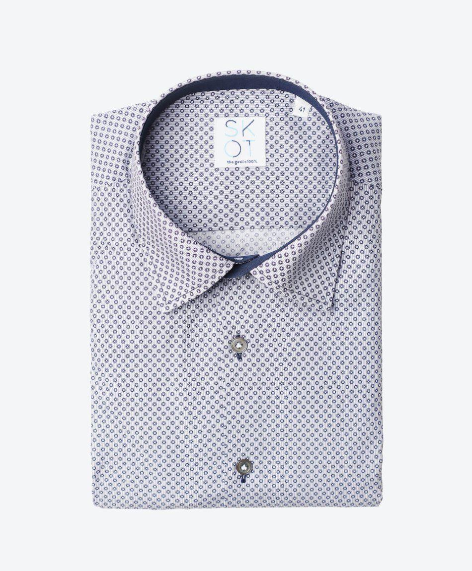Shirt Flower Grey
