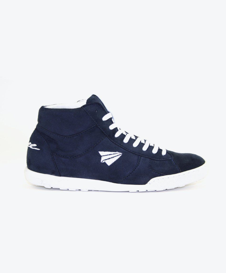 Sneaker Luna High-Cut Navy