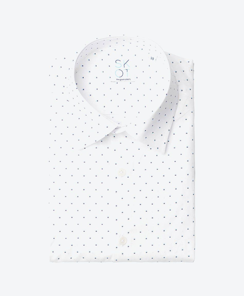 Shirt Spotted White