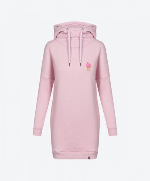 Kleid Ice SweatDRESS cradle pink