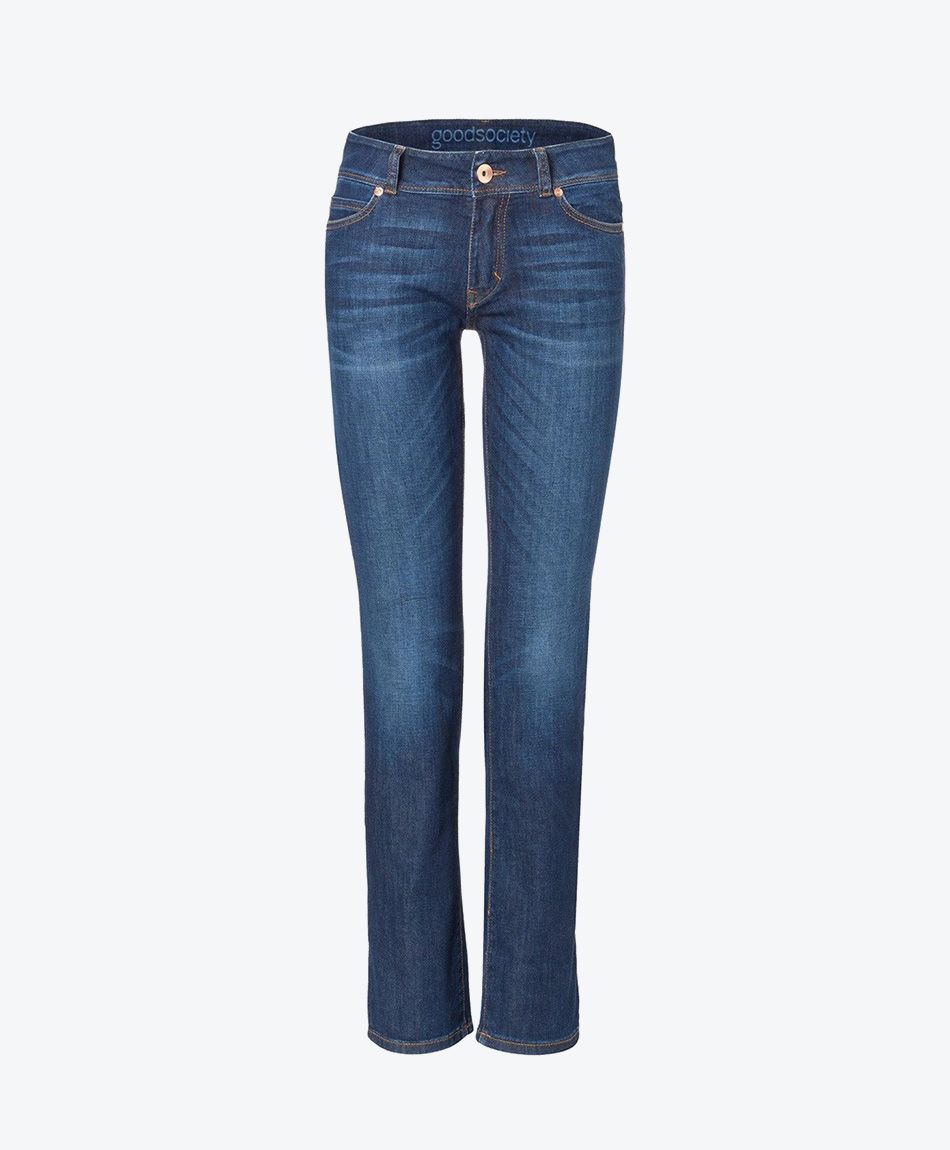 Womens Straight Jeans - Kyanos