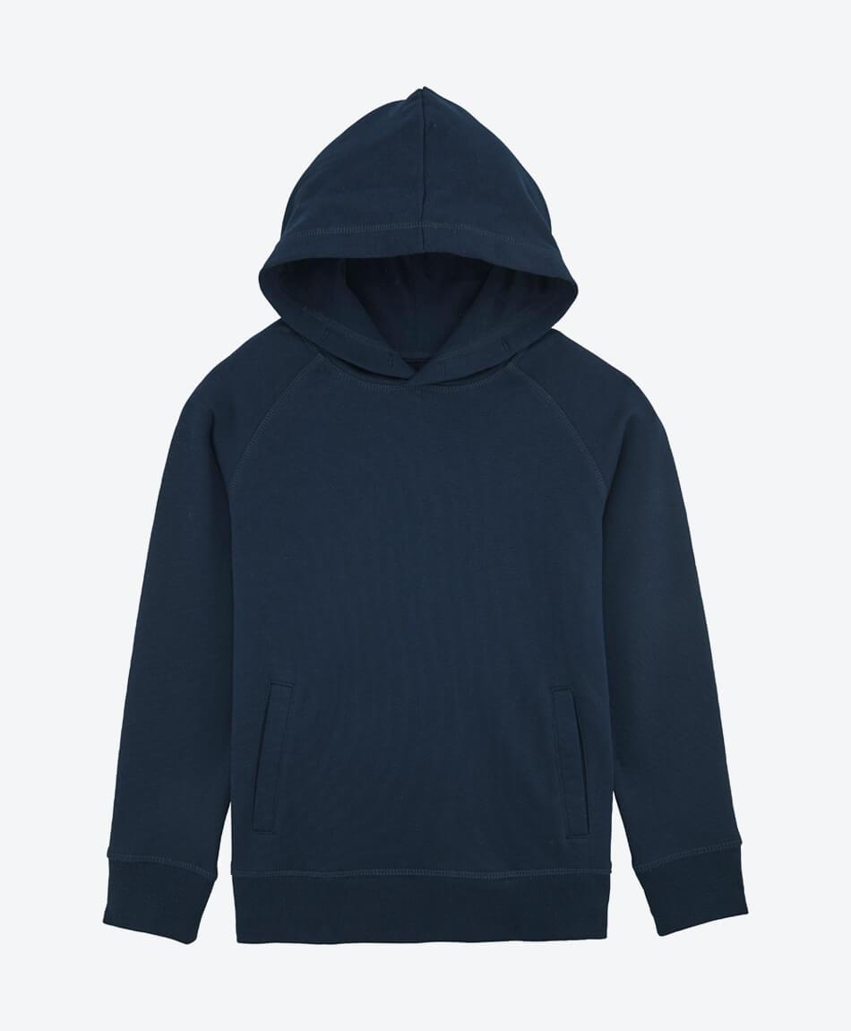 Bio Kinder Sweatshirt Base in french navy