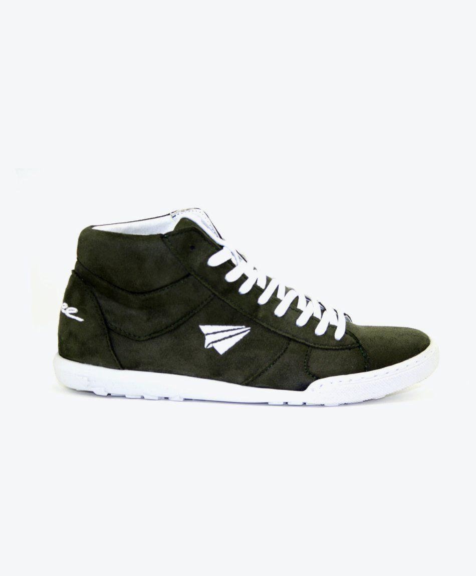 Sneaker Pluto High-Cut Khaki