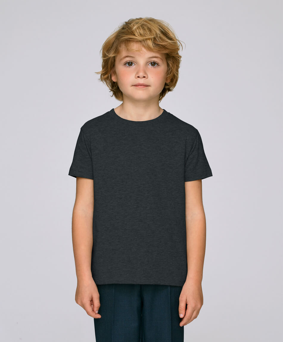 Boys T-Shirt Dark Heather Grey from Honestfashion Store