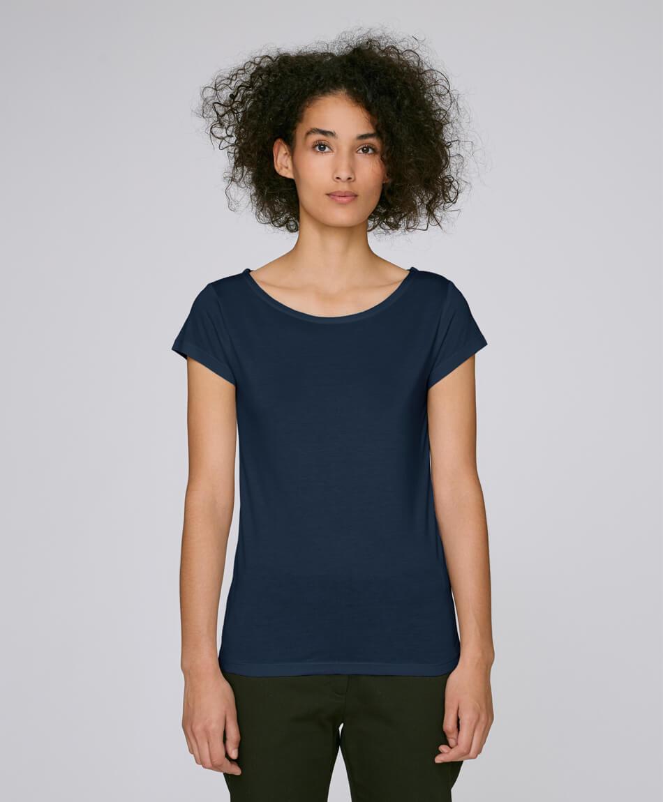 ded3cd69595174 ... Vorschau  Damen T-Shirt Modal in french navy Frau ...